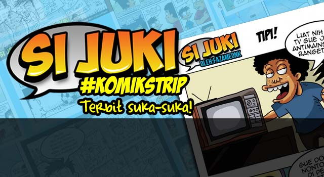 #KomikStrip : Tipi Anti Mainstream